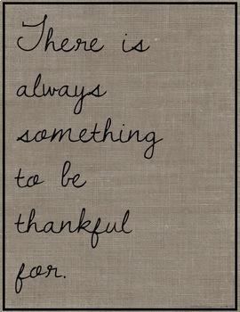 85 Burlap Gratitude Posters