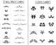 85 Flourishes- Clipart Mega Pack | Vector Text Dividers / Borders | PNG, AI, EPS