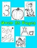 85 + Pages of Dot to Dot Printables - Huge Variety of Fine Motor Worksheets