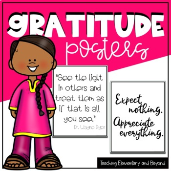 85 Printer Friendly Gratitude Posters