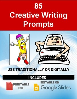 85 Writing Prompts (Quick Write Topics)