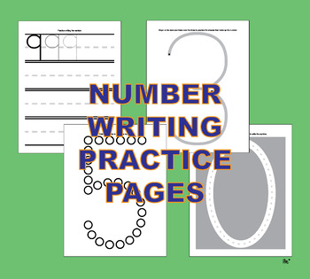 850+ Alphabet & Number Writing Practice Activity Pages A-z 0-9