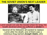UNIT 11 LESSON 10. Rise of Joseph Stalin POWERPOINT