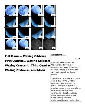 8.7B- Predicting Moon Phases Manipulative