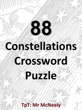 88 Constellations Crossword Puzzle