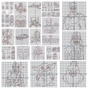 95 Coordinate Graphing Pictures