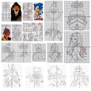 99 Coordinate Graphing Pictures | Math Mystery | Math Puzzles | Art | Sub Tub