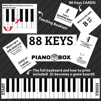 88 Keys- Piano Keyboard Board Game