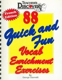 88 Quick and Fun Vocab Enrichment Exercises