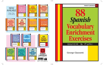 88 Spanish Vocabulary Enrichment Exercises