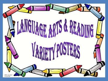 89 Animated Reading & Language Arts Posters