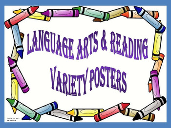 89 Animated Reading & Language Arts Posters
