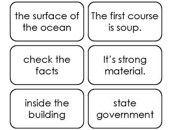 89 Fry's Sight Word Phrases Fifth Hundred List Flashcards. Preschool-5th Grade