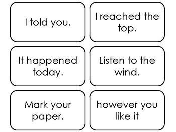 89 Fry's Sight Word Phrases Fourth Hundred List Flashcards. Preschool-5th Grade