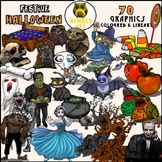 #SepTpTClipLove Halloween Clipart