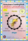 HONEYBEE FACTS:QUEEN BEE-DIFFERENTIATED WORKSHEETS-SET 2-PORTRAIT-8a2