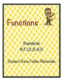8.F Functions Student Data Folder