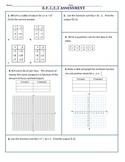 8.F.1/2/3 Common Core Pre-Test/Assessment