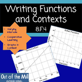 8.F.4 Writing Functions and Contexts