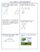 8.G.3/4 Common Core Pre-Assessment/Test