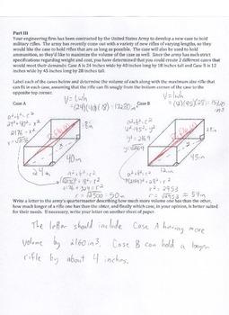 8.G.7 8.G.8 Pythagorean Theorem Performance Assessment