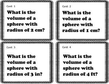 8.G.9 Volume Quiz Quiz Trade