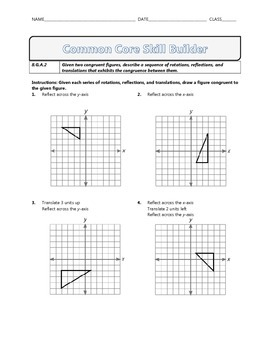 8.G.A.2 - Common Core Math Skill Builder