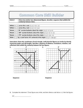 8.G.A.4 - Common Core Math Skill Builder