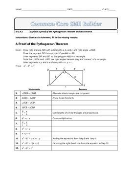 8.G.B.6 - Common Core Math Skill Builder