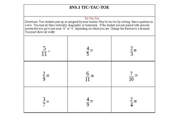 8NS.1 Number Systems