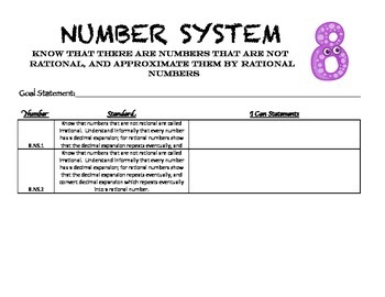8.NS Number System Student Data Folder