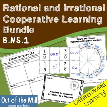 8.NS.1 Rational and Irrational Numbers: Cooperative Learni