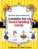 8a Benchmark Advance Kinder Basic Spelling Variations Posters (sound spelling)