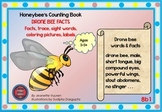 HONEY BEE FACTS: DRONE BEES-DIFFERENTIATED WORKSHEETS-SET1-LANDSCAPE-8b1