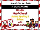 8d. Benchmark Advance Red Framed 1/2 sheet Sound Spelling & Frieze *Updated