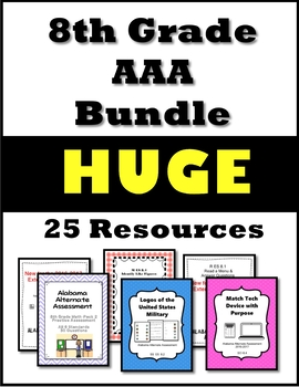8th Grade AAA Resource Bundle