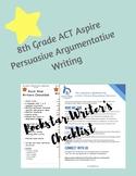 ACT Aspire 8th Grade Persuasive Argumentative Rock Star Wr