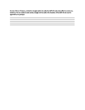 8th Grade Ad forms for Yearbook