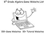 8th Grade Algebra Game Website List