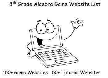 8th Grade Algebra Game Website List