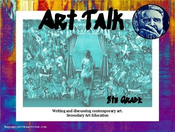 8th Grade Art Talk