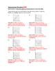 8th Grade Association Lesson: FOLDABLE & Homework
