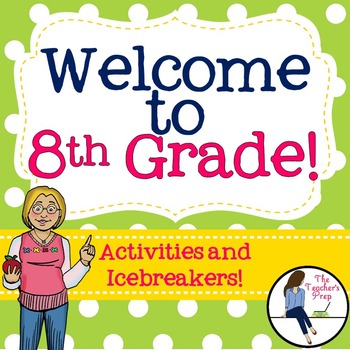8th Grade Back to School Activities and Icebreakers