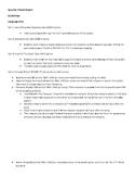 8th Grade Book Report Guidelines