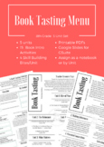 8th Grade Book Tasting Menu