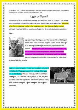 8th Grade Close Reading Literature AND Informational Bundle Google Drive Option