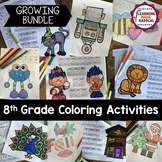 8th Grade Coloring Activities