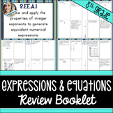 Expressions and Equations Review Booklet