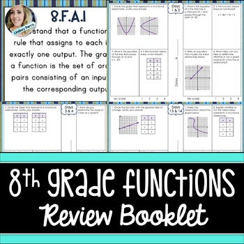 Functions Review Booklet