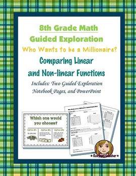 8th Grade Common Core Math (Guided Exploration) - Linear & Non-linear Functions